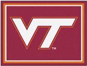 Fan Mats NCAA University of Virginia Tech 8x10 Rug
