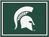 Fan Mats NCAA Michigan State University 8x10 Rug