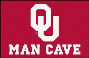 Fan Mats NCAA Oklahoma Man Cave Starter Mat