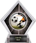 Awards P.R. Male Soccer Black Diamond Ice Trophy