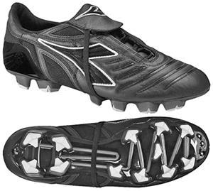 Diadora Maracana RTX 12 Soccer Cleats - Black - Soccer Equipment and Gear 2319c580744