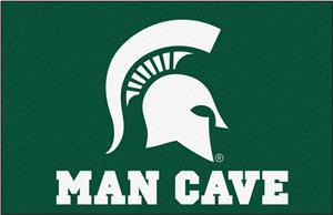 Fan Mats NCAA Michigan State Man Cave Starter Mat