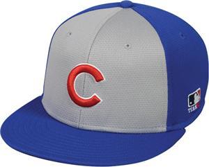 76104d9fbc2bf2 OC Sports MLB Chicago Cubs Colorblock Cap - Baseball Equipment & Gear