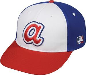 b9533181 OC Sports Cooperstown MLB Atlanta Braves Cap - Baseball Equipment & Gear