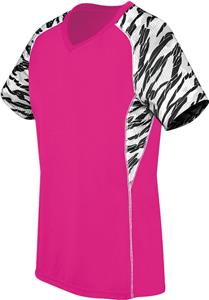 High Five Women's Evolution Print V-Neck Jerseys. Printing is available for this item.
