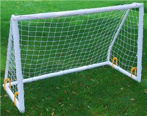 Soccer Goal Backyard soccer innovations 4x6 pvc match soccer goal ea - soccer equipment