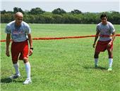 Soccer Innovation Flat Back 4 Belt Bungee Belt Set