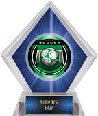 Awards Legacy Soccer Blue Diamond Ice Trophy