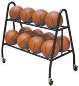 Kelpro Basketball 12 Ball Double Tuff Cart