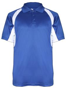 Badger Hook Performance Polo Shirts. Embroidery is available on this item.