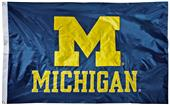 Collegiate Michigan 2-Sided Nylon 3'x5' Flag