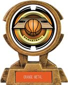 "Hasty Awards 7"" Sky Tower Resin Basketball Trophy"