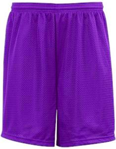 "Badger Youth Mesh Tricot 6"" Athletic Shorts"