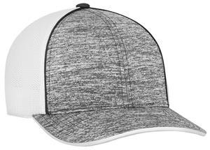 Pacific Headwear Aggressive Heather Trucker Cap