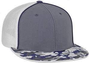 dd1a7839b3cde Pacific Headwear Glamo D-Series Trucker Cap - Soccer Equipment and Gear