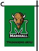 Collegiate Marshall 2-Sided Garden Flag