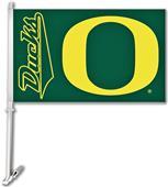 """Collegiate Oregon 11""""x18"""" Car Flag"""