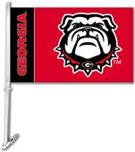 "Collegiate Georgia Bulldogs 11"" x 18"" Car Flag"