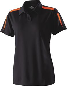 Womens Medium Performance Polo Shirt CO. Embroidery is available on this item.