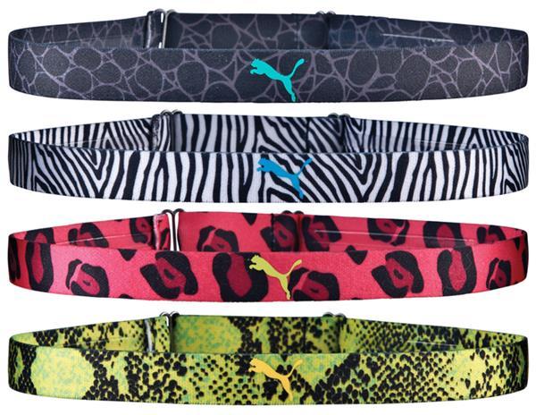 Puma Neon Jungle Headbands (4 Pack)