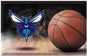 Fan Mats NBA Hornets Scraper Ball Mat