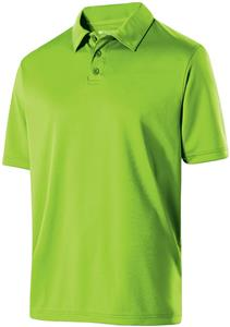 Holloway Adult Shift Polyester Polo. Embroidery is available on this item.