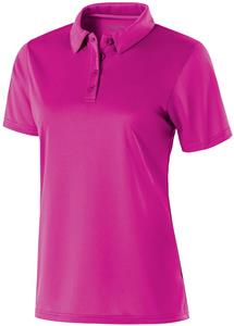 Holloway Ladies Shift Polo. Embroidery is available on this item.