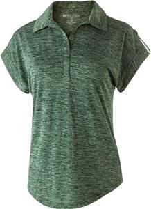 Holloway Ladies Electrify 2.0 Polo. Embroidery is available on this item.