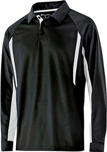 Holloway Adult Avenger Polo Long Sleeve. Embroidery is available on this item.