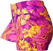 Gem Gear Compression Aloha Polyspandex Shorts