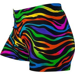 Purple//Black, 4 in. Adult XL 16-18 Galaxy Basic Shorts