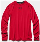 Under Armour Youth Heatgear Armour Long Sleeve Tee