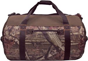 """Golden Pacific Mossy Oak 24"""" Barrel Duffel. Embroidery is available on this item."""