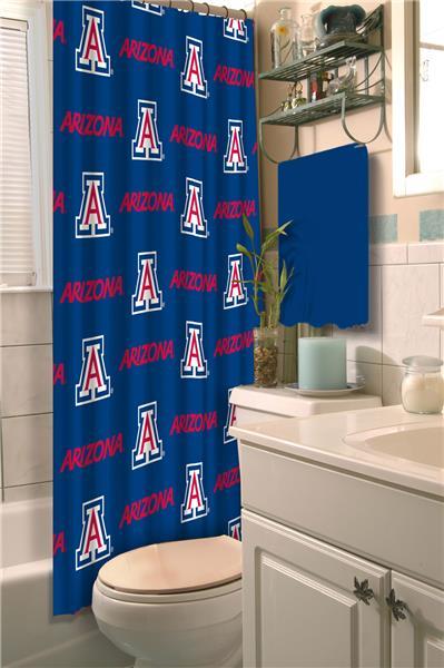 Northwest NCAA Arizona Shower Curtain