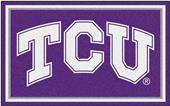 Fan Mats NCAA Texas Christian University 4'x6' Rug