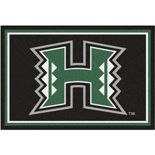 Fan Mats NCAA University of Hawaii 5'x8' Rug