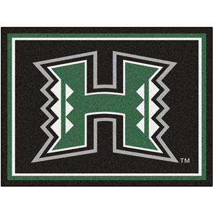 Fan Mats NCAA University of Hawaii 8'x10' Rug
