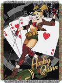 Northwest Harley Quinn Woven Tapestry Throw