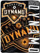 MLS Houston Dynamo Concrete Micro Raschel Throw