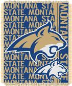 Northwest Montana State Double Play Jaquard Throw