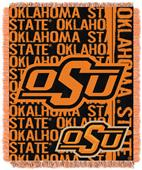 Northwest Oklahoma State Double Play Jaquard Throw