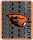 Northwest Oregon State Double Play Jaquard Throw