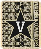 Northwest Vanderbilt Double Play Jaquard Throw