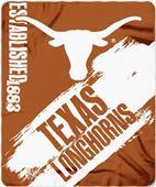 Northwest Texas Painted Fleece Throw