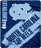 Northwest UNC Painted Fleece Throw