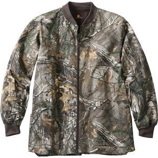 eaff68e25ba3f Carhartt Mens Realtree Zip Front Scrub Jacket