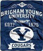 Northwest BYU Label Raschel Throw
