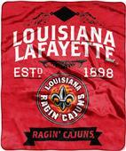 Northwest Louisiana Lafayette Label Raschel Throw