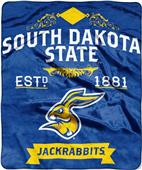 Northwest South Dakota State Label Raschel Throw