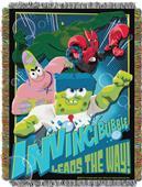 Northwest SpongeBob Movie Woven Tapestry Throw